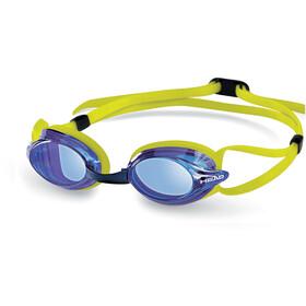 Head Venom Svømmebriller, blå/gul